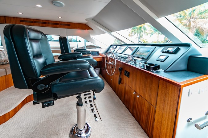 2013 HATTERAS Enclosed Bridge MY Motor Yacht 2725509
