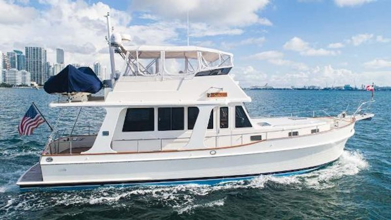 Starboard Profile 2008 GRAND BANKS  Trawler 2752093