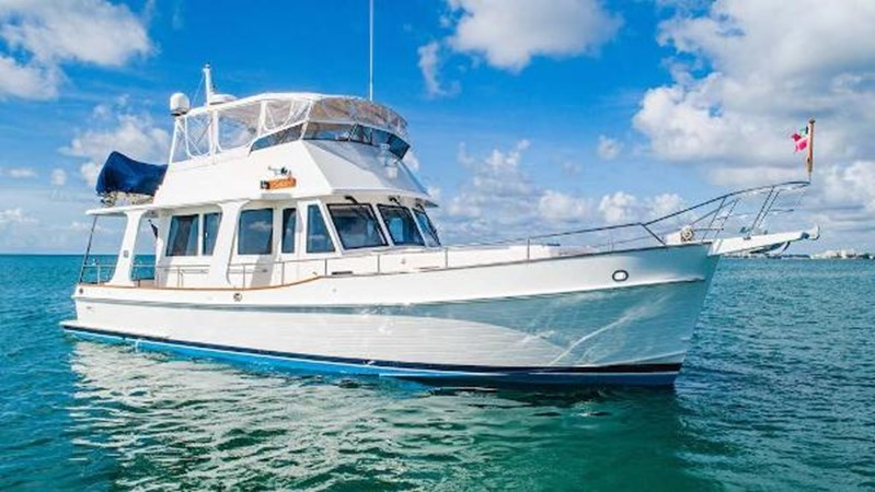 Starboard Profile  2008 GRAND BANKS  Trawler 2752098