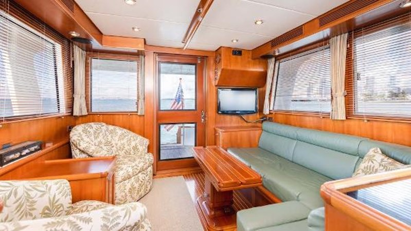Main Salon Aft 2008 GRAND BANKS  Trawler 2752124