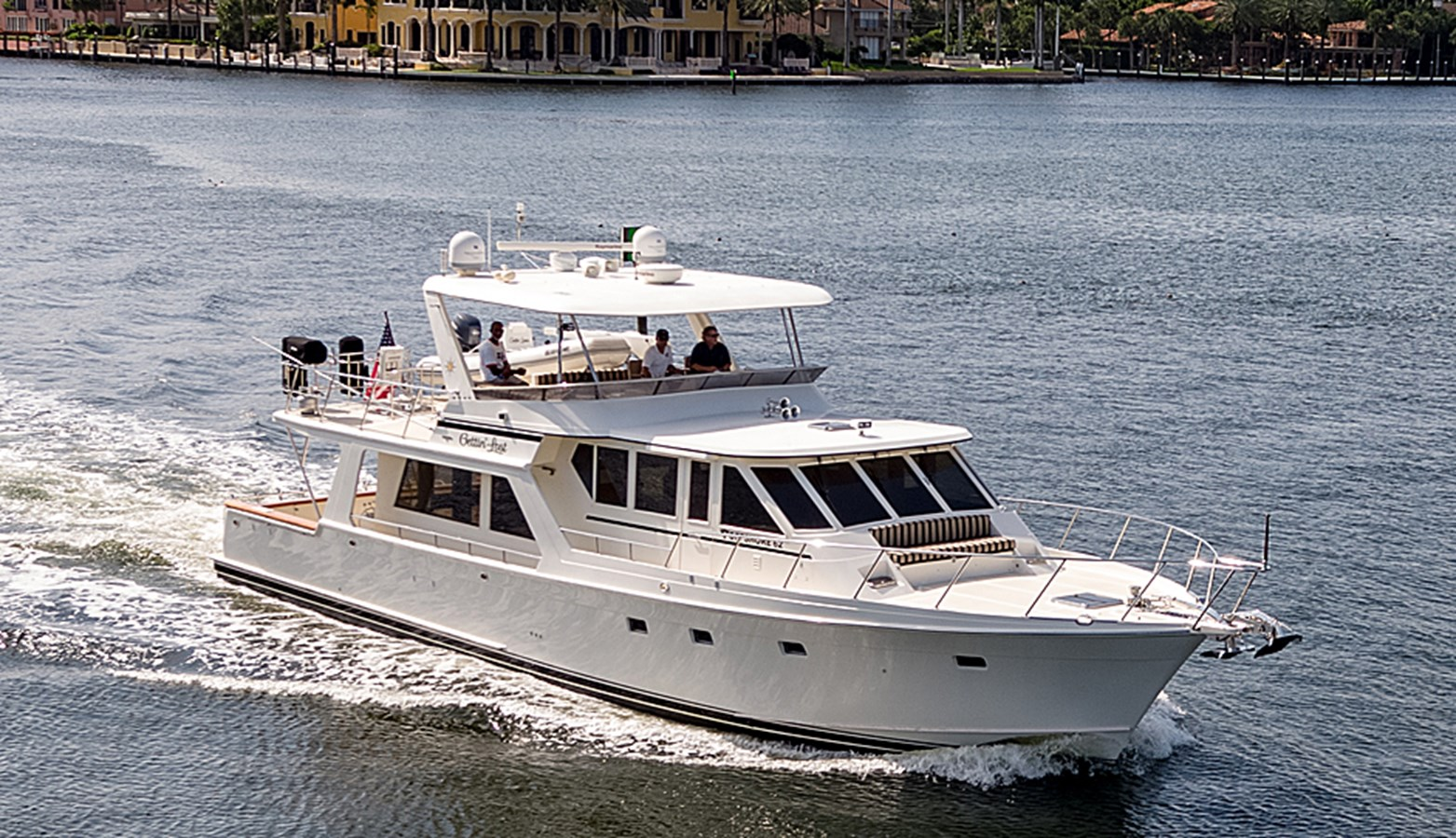 Gettin Lost-Profile 2007 OFFSHORE YACHTS  Motor Yacht 2728156
