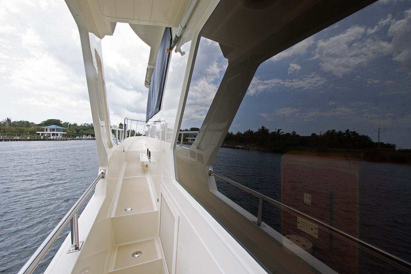 Covered Side Decks 2007 OFFSHORE YACHTS  Motor Yacht 2728161