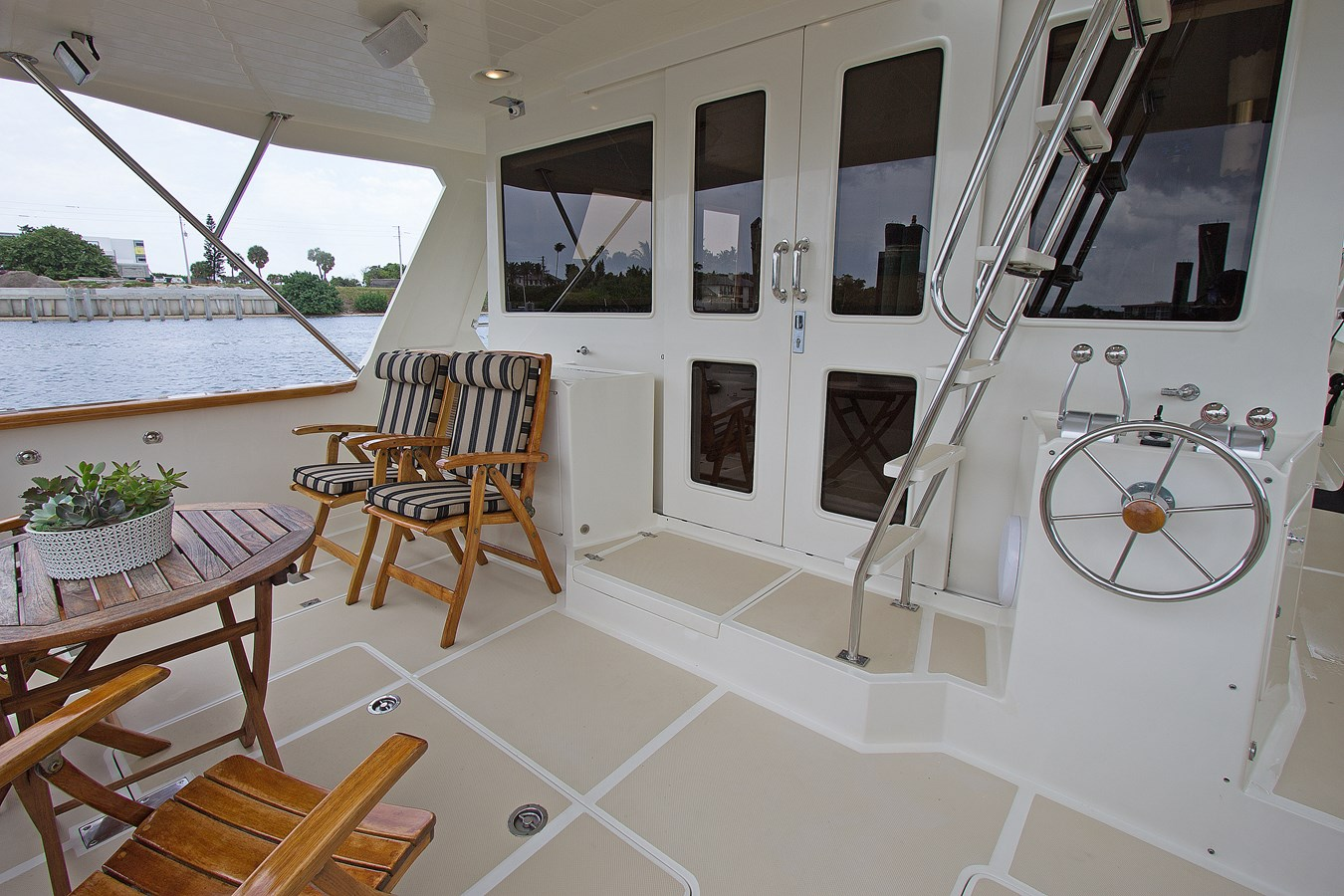 Aft Deck 2007 OFFSHORE YACHTS  Motor Yacht 2728169