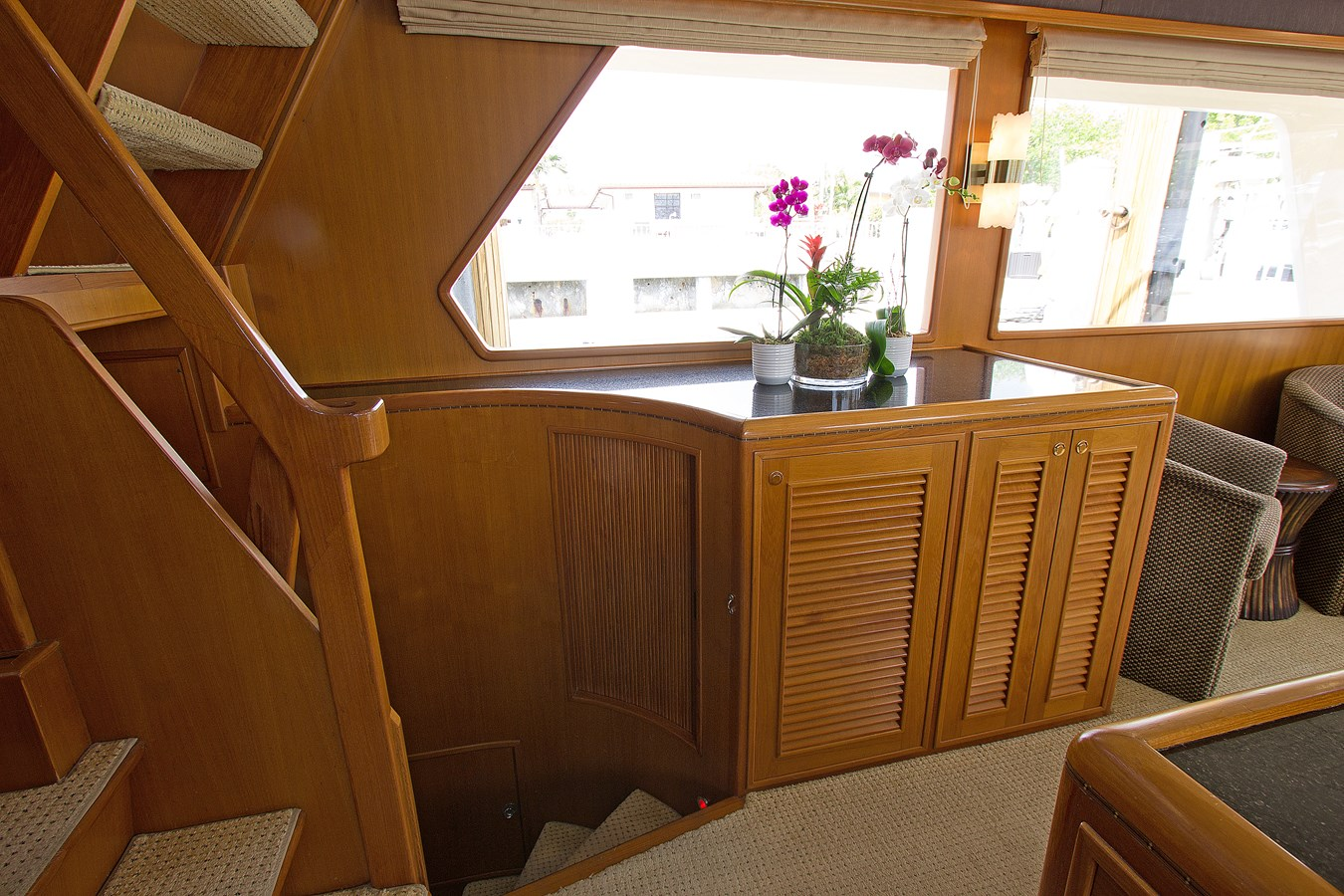 Stairs to Master Stateroom 2007 OFFSHORE YACHTS  Motor Yacht 2728170