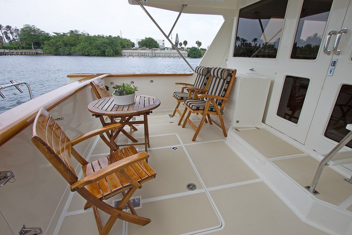Aft Deck 2007 OFFSHORE YACHTS  Motor Yacht 2728172