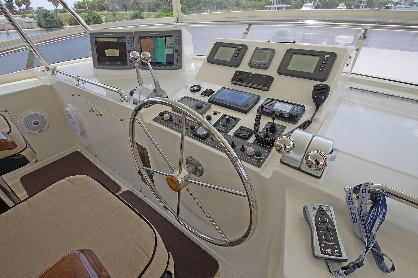 Flybridge Helm 2007 OFFSHORE YACHTS  Motor Yacht 2728175