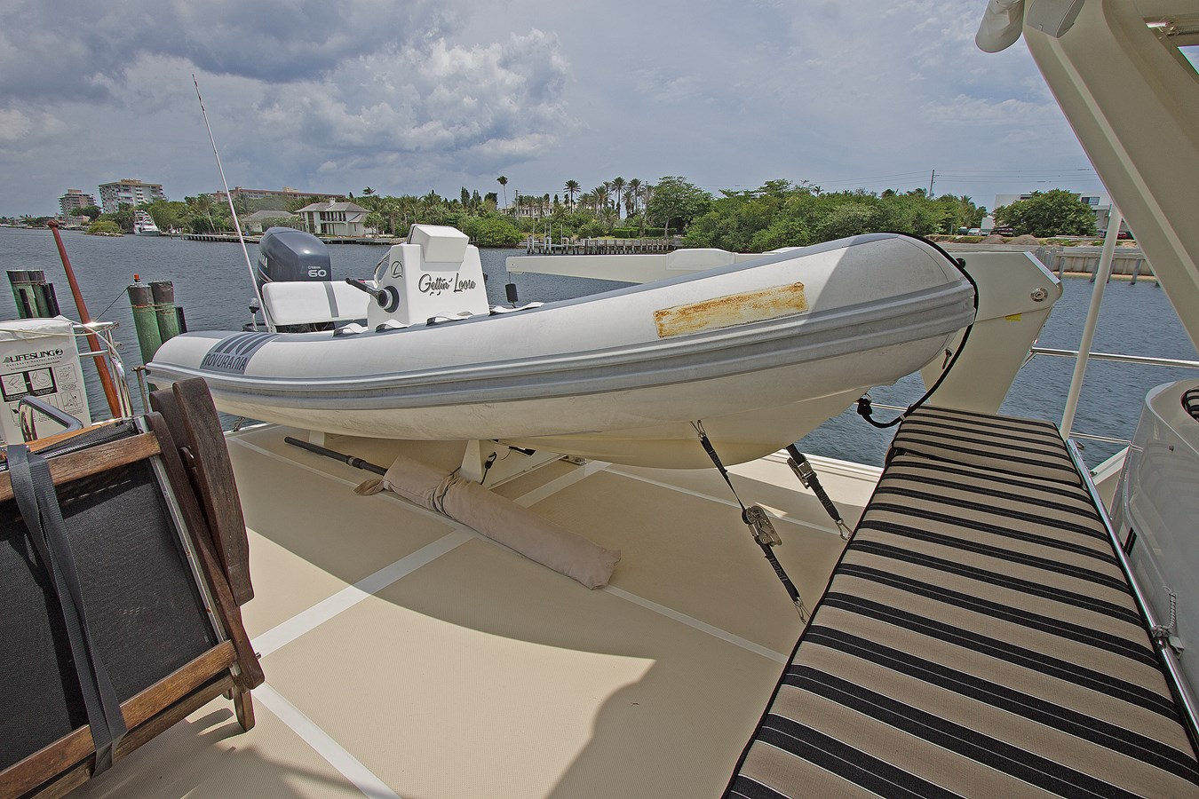 Tender on Boat Deck 2007 OFFSHORE YACHTS  Motor Yacht 2728177