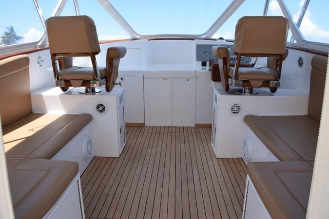 Helm deck with air conditioning 2015 CUSTOM CAROLINA WARREN O'NEAL 2015 REBUILD Sport Fisherman 2728559