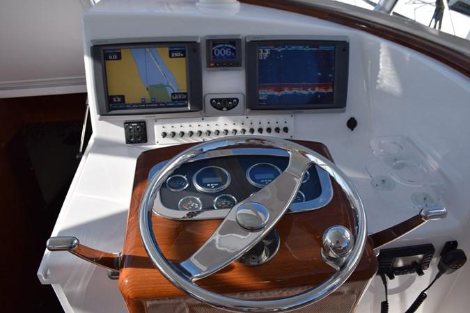 Garmin system with autopilot, CHIRP and radar 2015 CUSTOM CAROLINA WARREN O'NEAL 2015 REBUILD Sport Fisherman 2728561