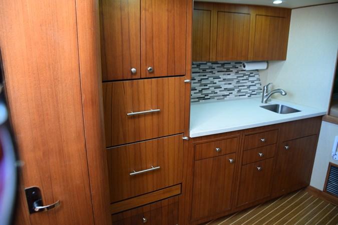 Modern design and finish, hideaway head and entry 2015 CUSTOM CAROLINA WARREN O'NEAL 2015 REBUILD Sport Fisherman 2728568
