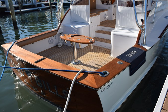 Teak cockpit, coverboards and transom 2015 CUSTOM CAROLINA WARREN O'NEAL 2015 REBUILD Sport Fisherman 2728572