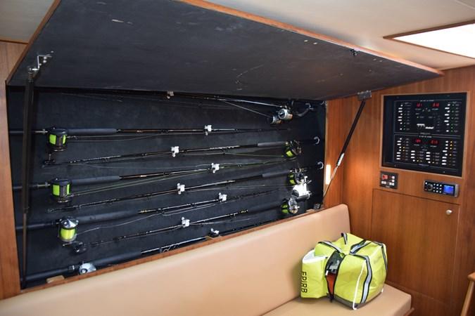 Rod storage cabinet 2015 CUSTOM CAROLINA WARREN O'NEAL 2015 REBUILD Sport Fisherman 2728590