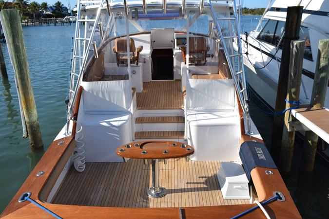 Great looking dock presence 2015 CUSTOM CAROLINA WARREN O'NEAL 2015 REBUILD Sport Fisherman 2728592