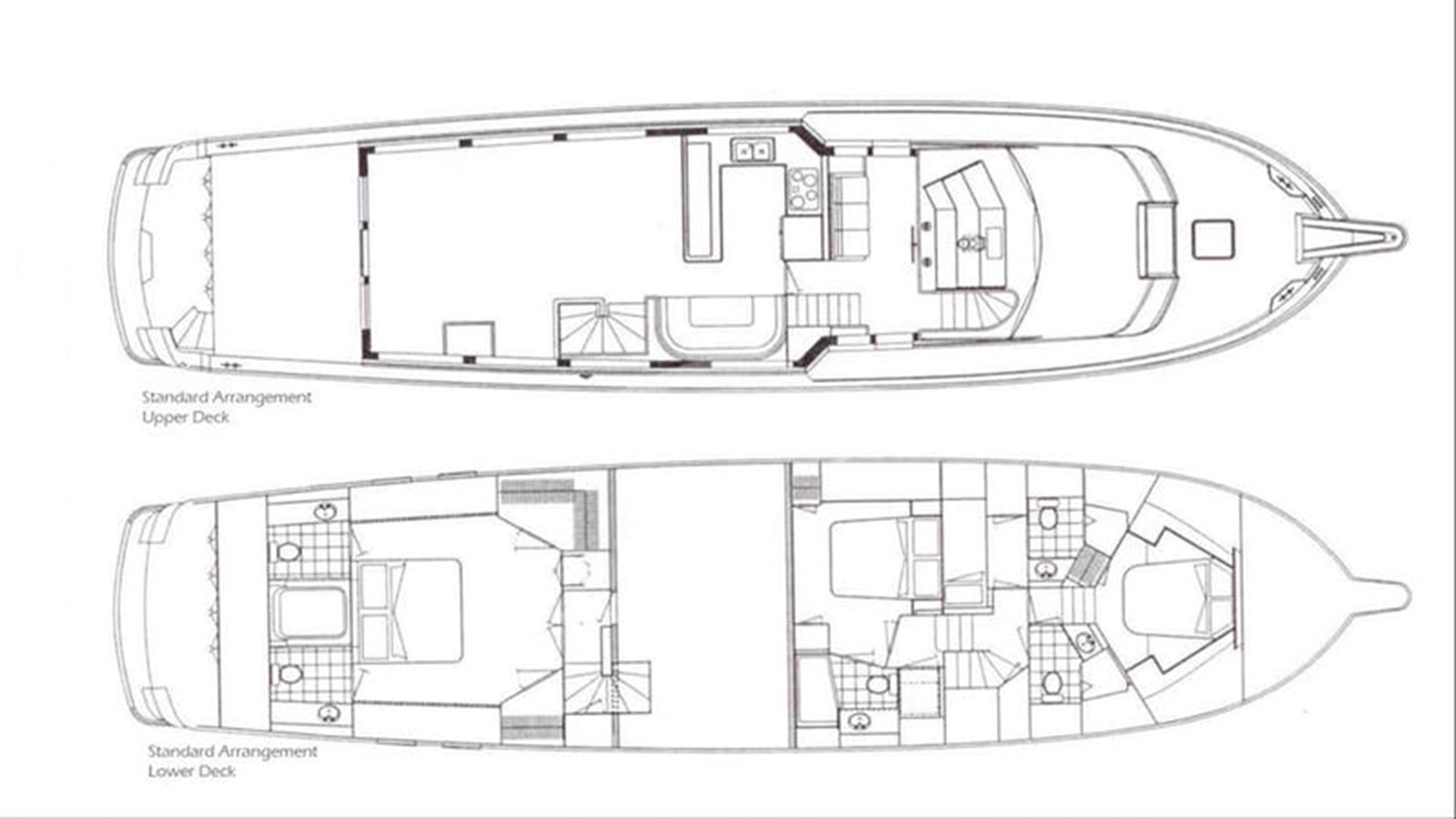 Line Drawing from Worth Ave Charter Site 11 04 19 2004 HATTERAS  Motor Yacht 2763687