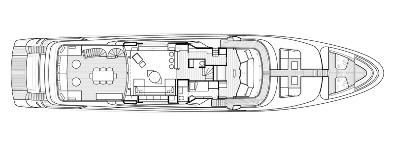 Upper Deck 2016 San Lorenzo MOTORYACHT Motor Yacht 2752149