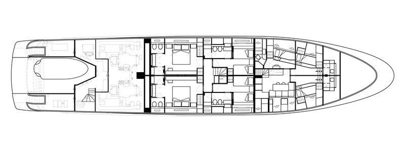 Lower Deck 2016 San Lorenzo MOTORYACHT Motor Yacht 2752150