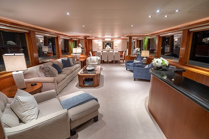 Main Salon and Dining 2005 WESTPORT Tri-Deck MY Motor Yacht 2744163