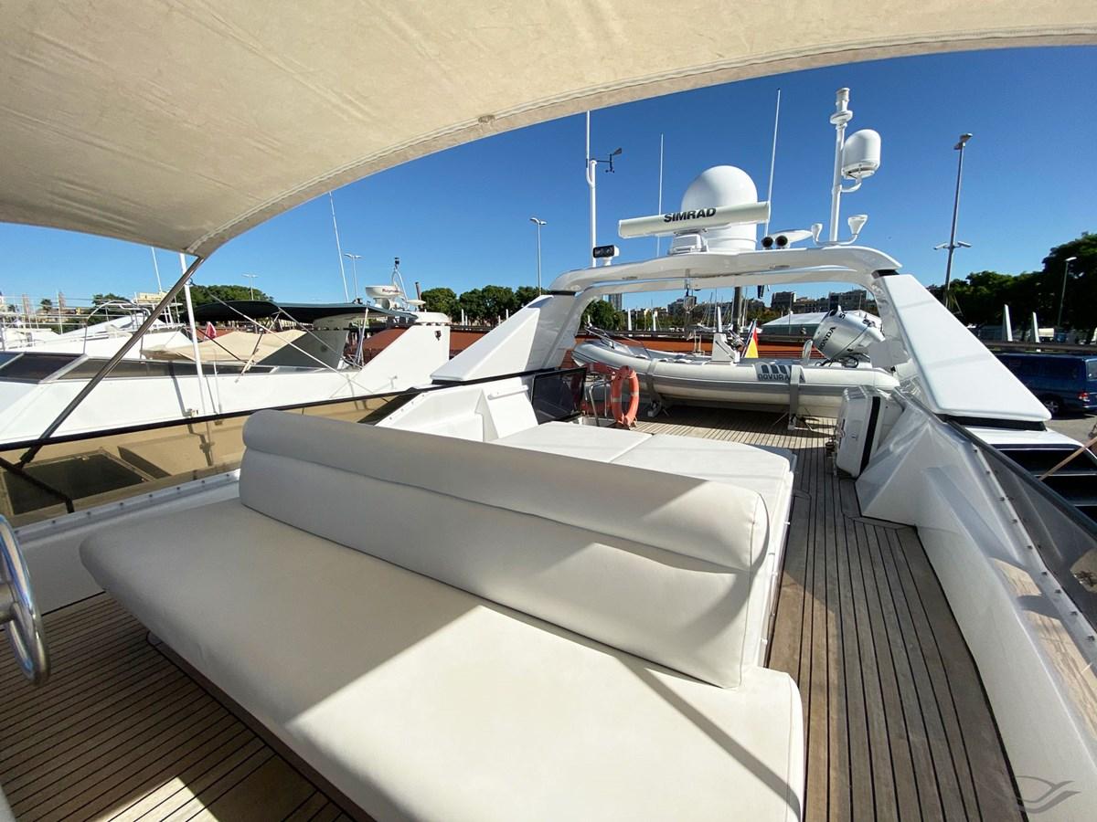 Viudes 83 24m Motor Yacht - Solarium 1989 Viudes Yachts Viudes 83 Motor Yacht 2733380