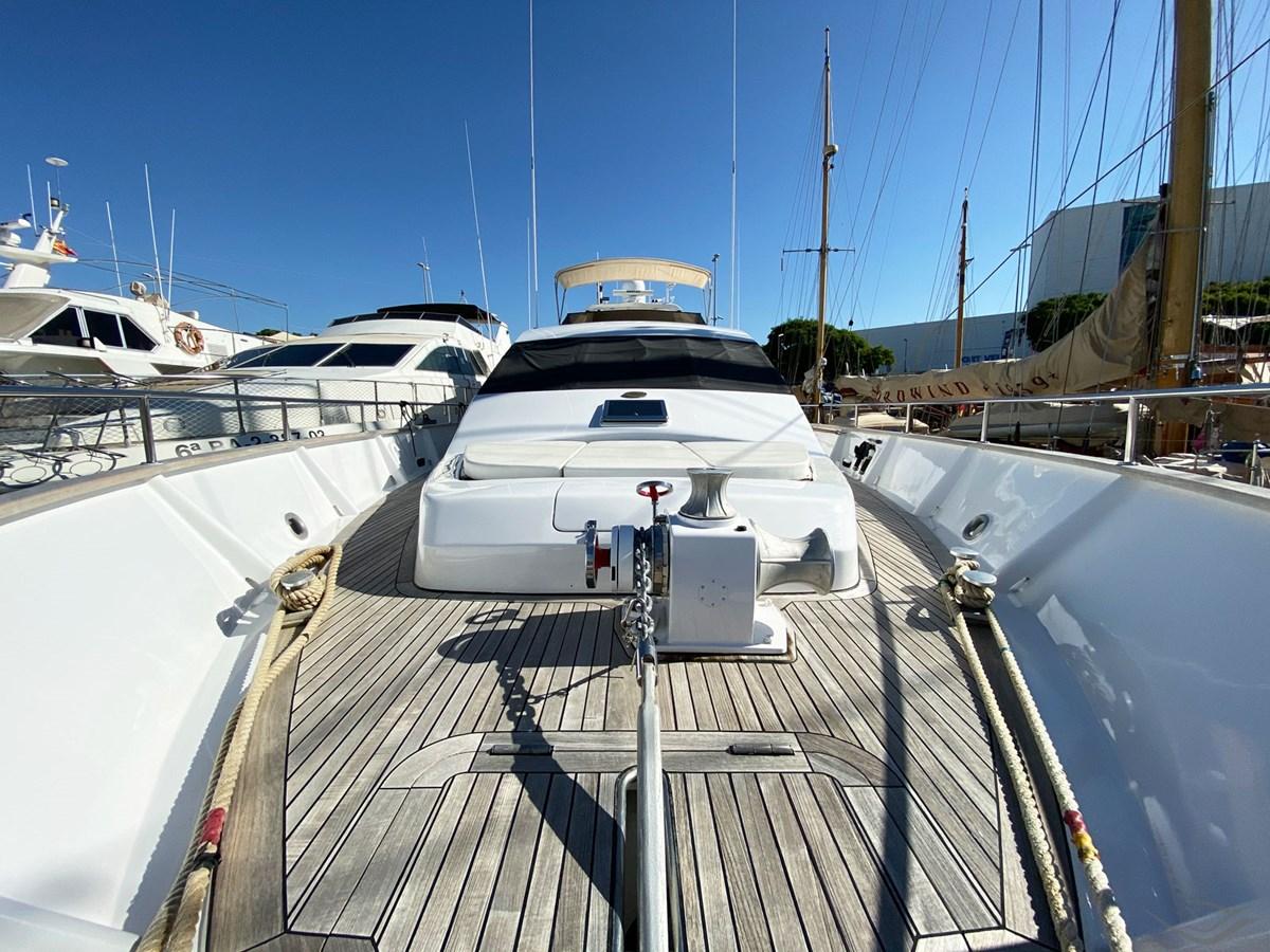 Viudes 83 24m Motor Yacht - Bow Area 1989 Viudes Yachts Viudes 83 Motor Yacht 2733396