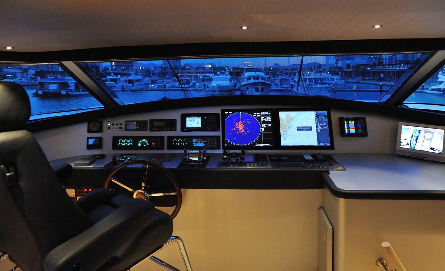 Mondomarine 85 Petardo - Wheelhouse Night 1995 MondoMarine 85 C Motor Yacht 2735401