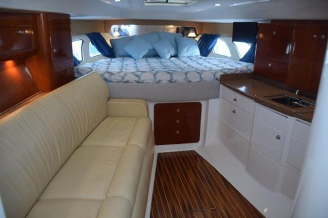 Cherry interior - clean and neat 2010 INTREPID POWERBOATS INC. Intrepid Sport Yacht with Seakeeper Gyro Walkaround 2761054