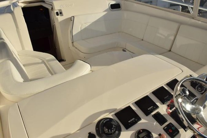 Electronics console closed 2010 INTREPID POWERBOATS INC. Intrepid Sport Yacht with Seakeeper Gyro Walkaround 2761075
