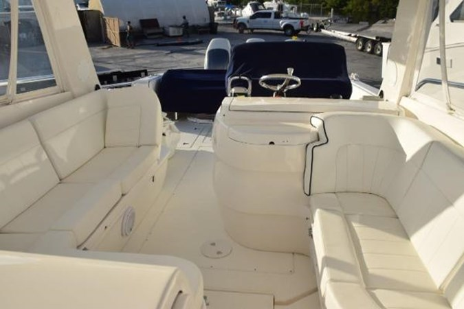 Aft view from cabin entry 2010 INTREPID POWERBOATS INC. Intrepid Sport Yacht with Seakeeper Gyro Walkaround 2761077