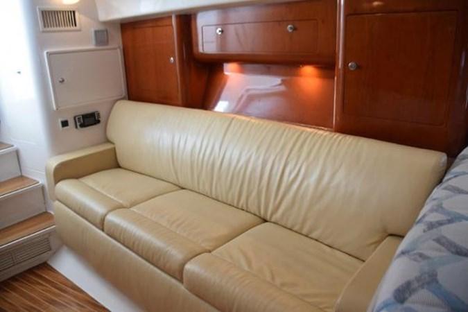 Tan Settee 2010 INTREPID POWERBOATS INC. Intrepid Sport Yacht with Seakeeper Gyro Walkaround 2761078