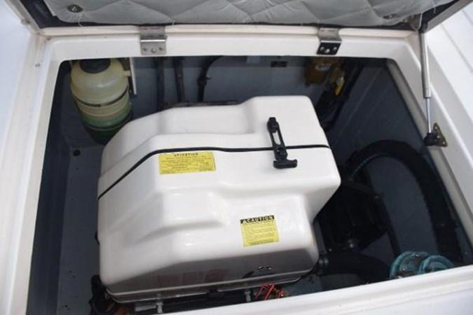 Diesel Panda generator in sound shield 2010 INTREPID POWERBOATS INC. Intrepid Sport Yacht with Seakeeper Gyro Walkaround 2761084