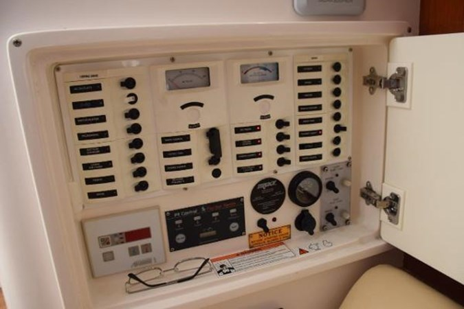 Main electrical panel 2010 INTREPID POWERBOATS INC. Intrepid Sport Yacht with Seakeeper Gyro Walkaround 2761091