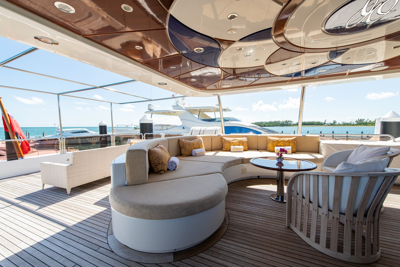 Pilot House Aft Deck 2006 BENETTI Tradition Series Motor Yacht 2738500
