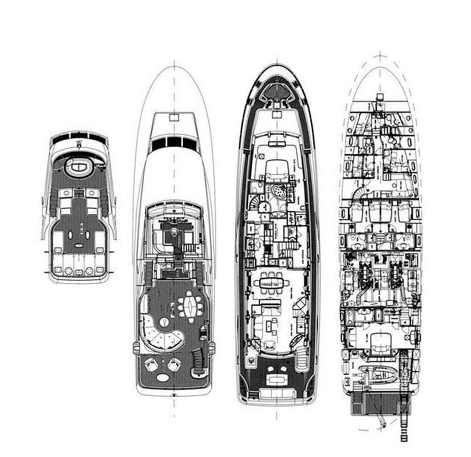 General Aramgement 2006 BENETTI Tradition Series Motor Yacht 2738712