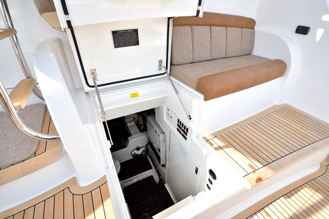 2014 Viking 66 Convertible - Cockpit to Engine Room 2014 VIKING 66 Convertible Sport Fisherman 2758547