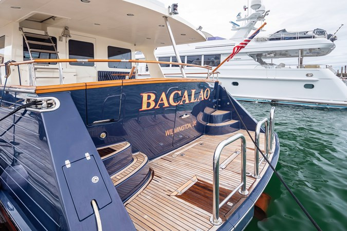 Bacalao Transom 2005 MARLOW Explorer 78E Motor Yacht 2765375