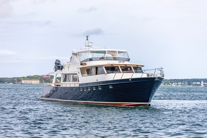 Bacalao Starboard Side 2005 MARLOW Explorer 78E Motor Yacht 2765387