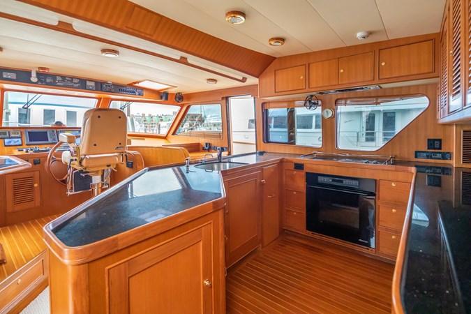 Galley Looking Forward 2005 MARLOW Explorer 78E Motor Yacht 2765398