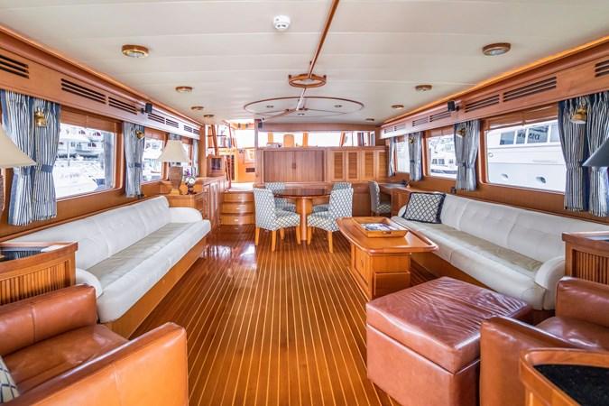 Salon Looking Forward 2005 MARLOW Explorer 78E Motor Yacht 2765410