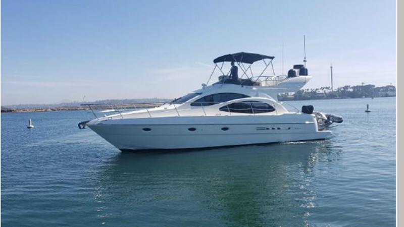 76 2001 AZIMUT 42 Flybridge Cruiser 2740266