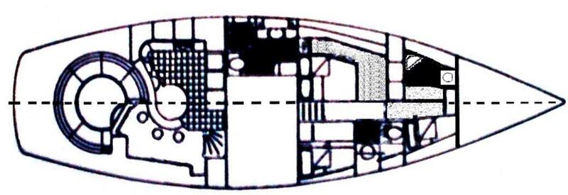Layout  1981 JONGERT 20D Cruising Ketch 2747011