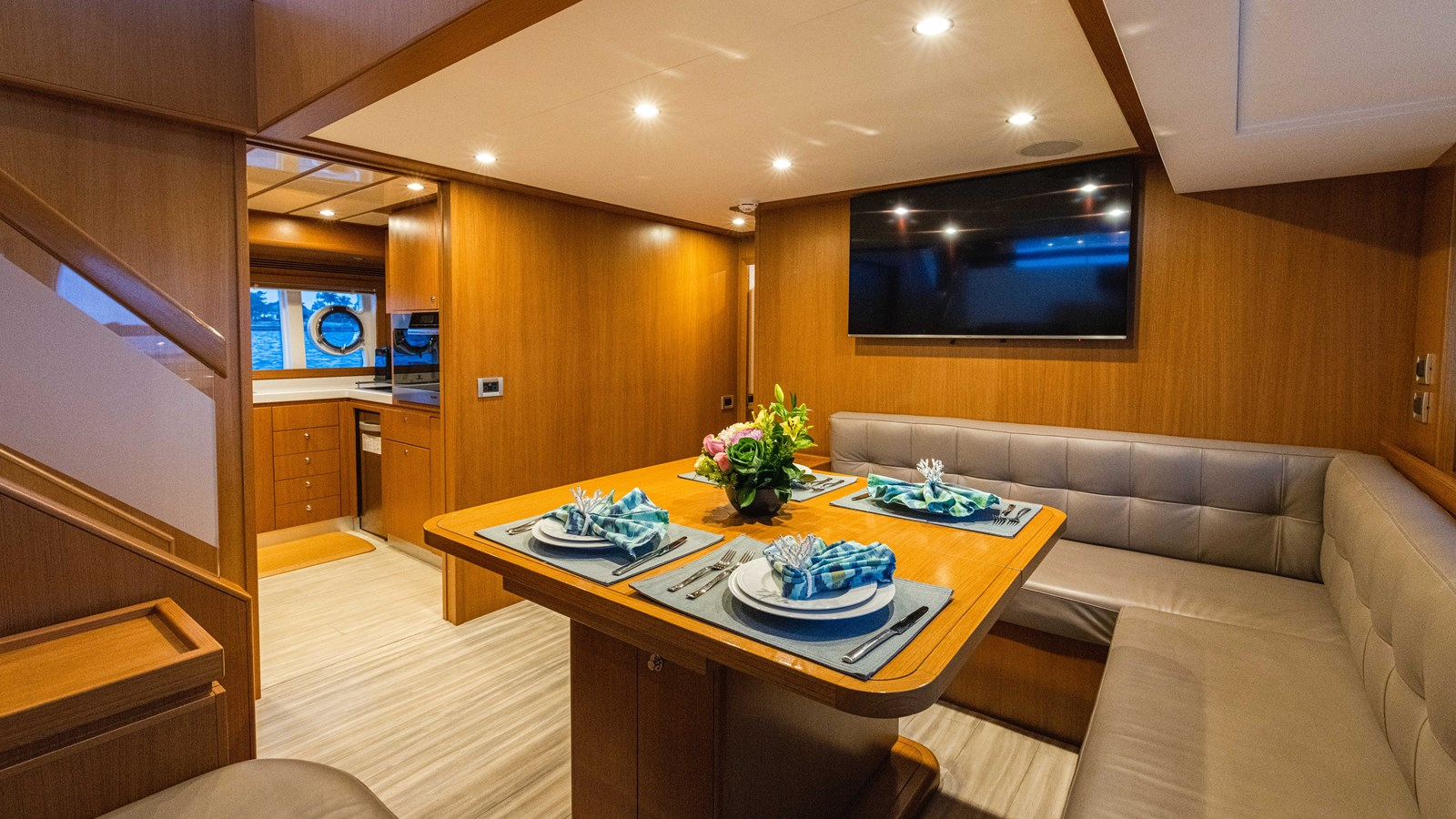 Dinette  2015 FERRETTI YACHTS  Motor Yacht 2883120