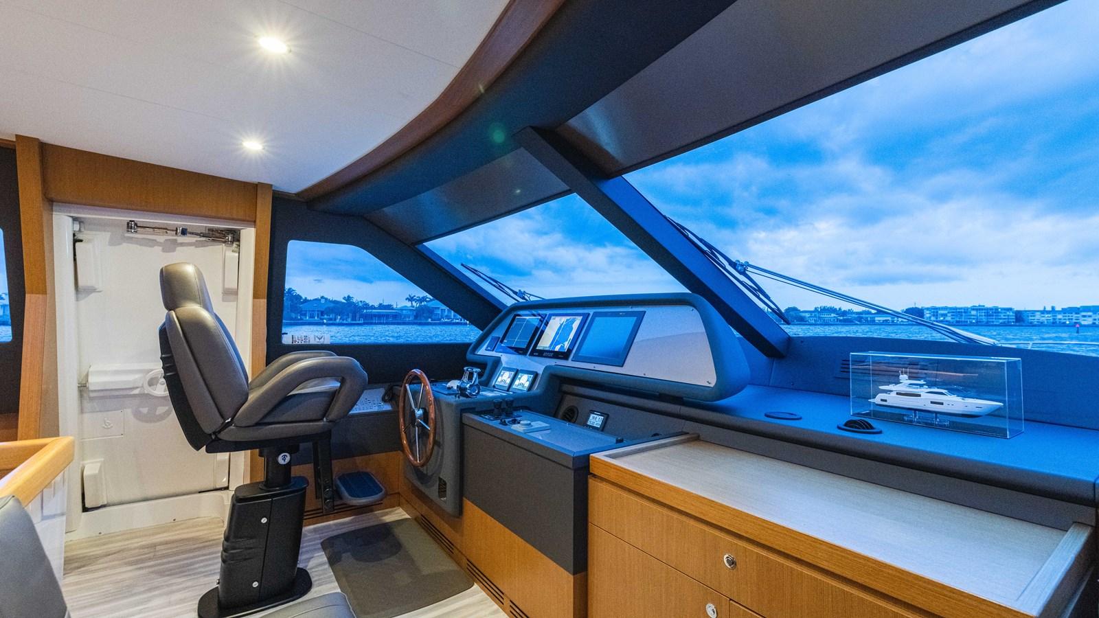 Lower Helm 2015 FERRETTI YACHTS  Motor Yacht 2883201