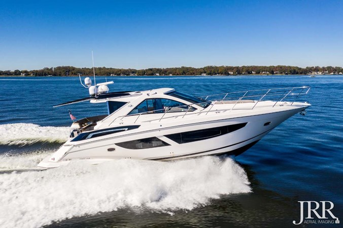 Starboard Profile 2017 REGAL 53 Sport Coupe Motor Yacht 2745430