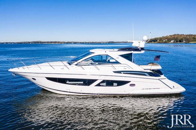 Port Profile 2017 REGAL 53 Sport Coupe Motor Yacht 2745540
