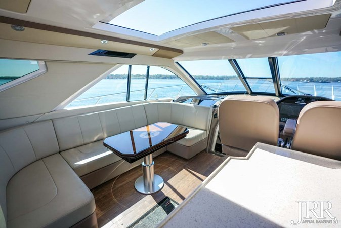 Upper Salon Seating 2017 REGAL 53 Sport Coupe Motor Yacht 2745553