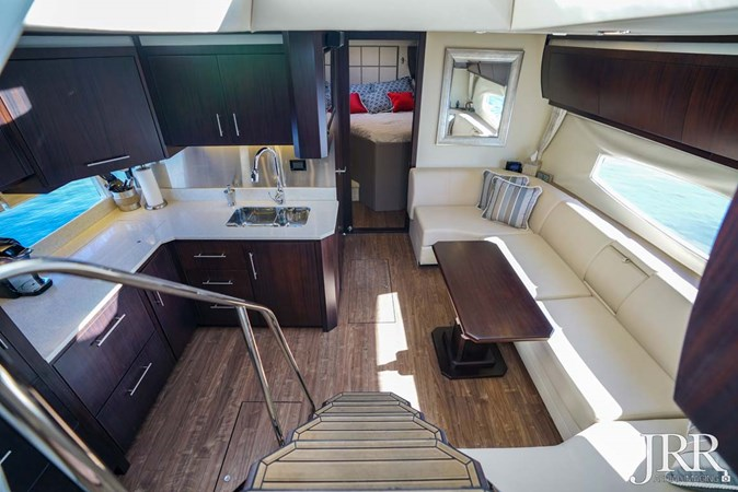 Salon and Galley 2017 REGAL 53 Sport Coupe Motor Yacht 2745565