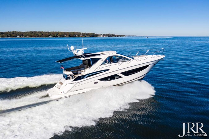 Starboard Profile 2017 REGAL 53 Sport Coupe Motor Yacht 2745580