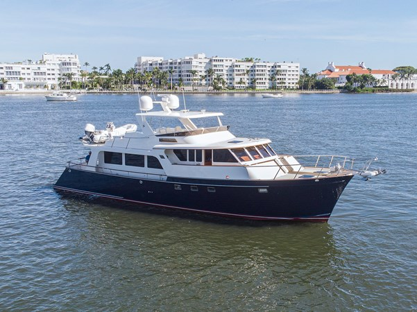 Sand Piper_Aerial1 PROFILE 2004 MARLOW 70E Motor Yacht 2746774