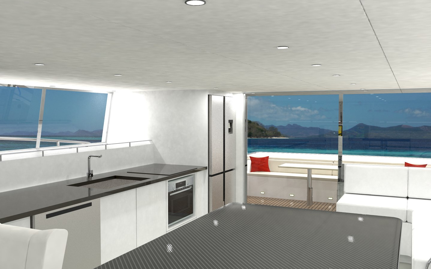 SILENT YACHTS YACHTS sy44 Table looking aft  2020 SILENT YACHTS SILENT 44 Catamaran 2747118