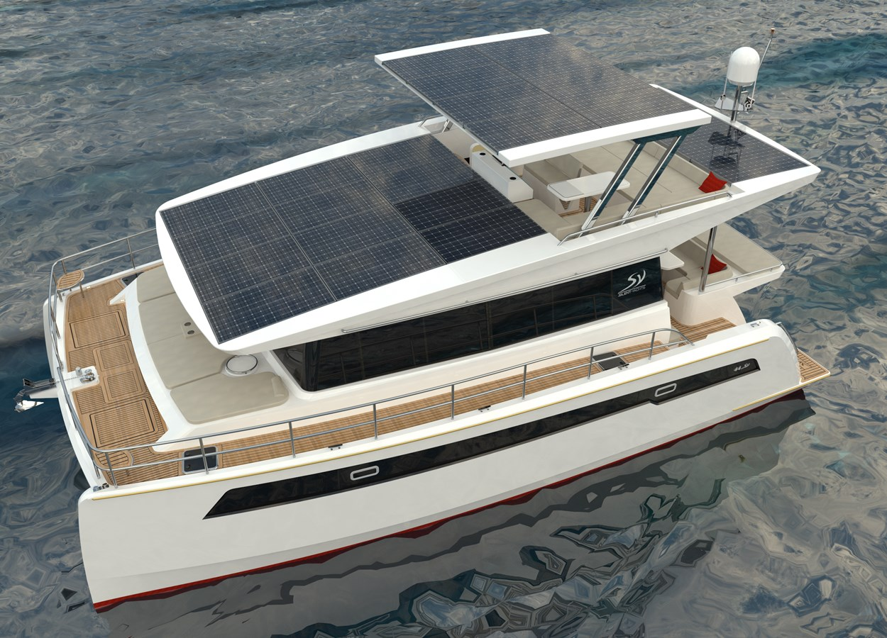 Electric Yachts Silent Yachts 44 Port Top-Water 2020 SILENT YACHTS SILENT 44 Catamaran 2771190