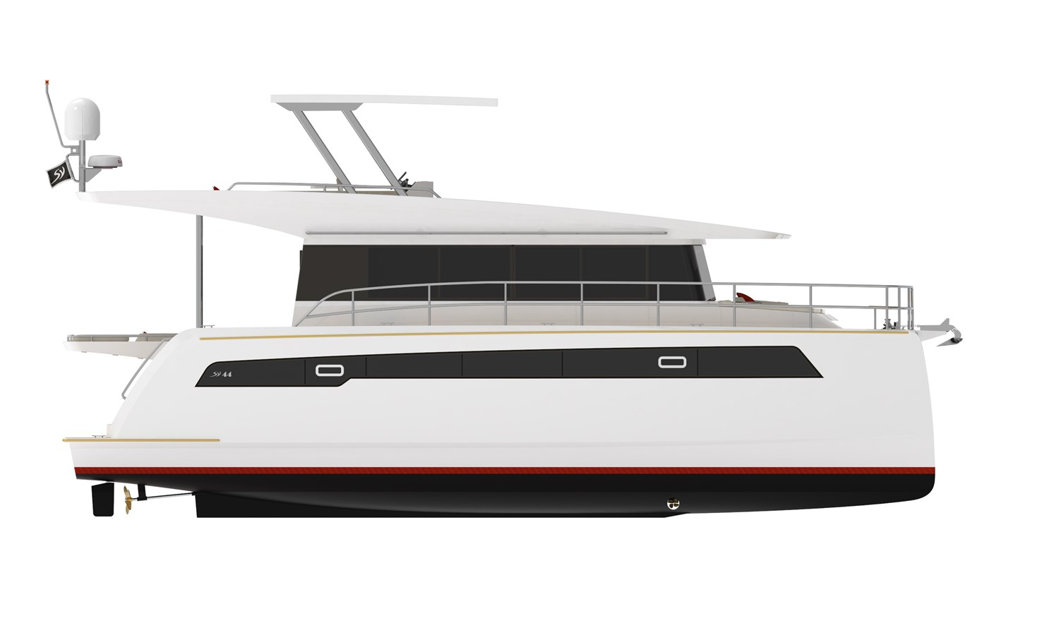 Electric Yachts Silent Yachts 44 Side 2020 SILENT YACHTS SILENT 44 Catamaran 2771192